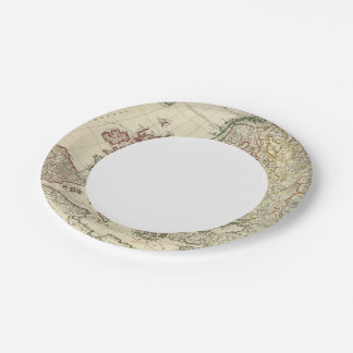 Europe 2 paper plate