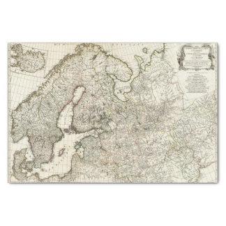 Europe 2 tissue paper