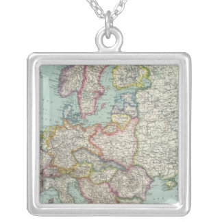 Europe 31 silver plated necklace