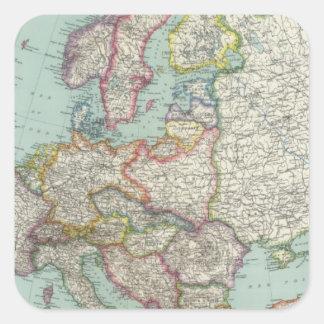 Europe 31 square sticker