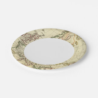 Europe 33 paper plate