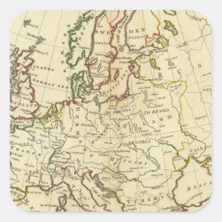 Europe 33 square sticker
