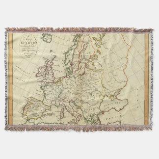 Europe 33 throw blanket