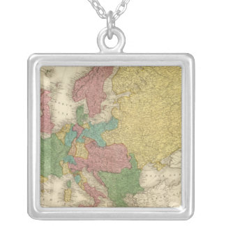 Europe 37 silver plated necklace