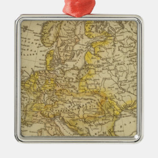 Europe 39 Silver-Colored square decoration