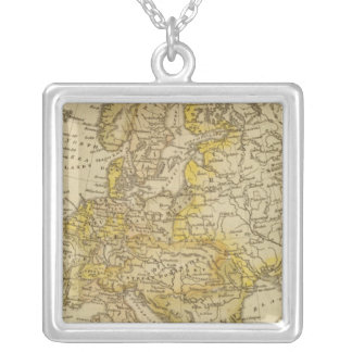 Europe 39 silver plated necklace