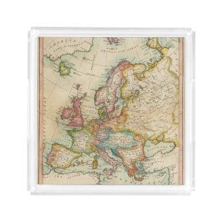 Europe 3 2 acrylic tray