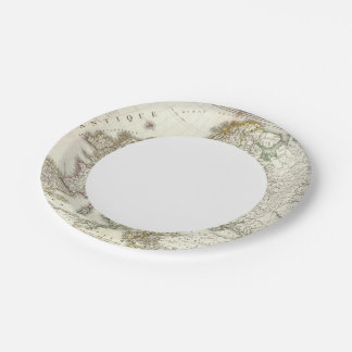 Europe 3 7 inch paper plate