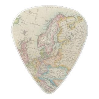 Europe 3 acetal guitar pick