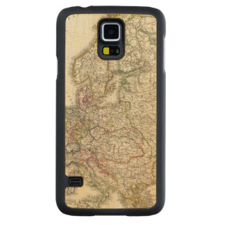Europe 3 carved maple galaxy s5 case