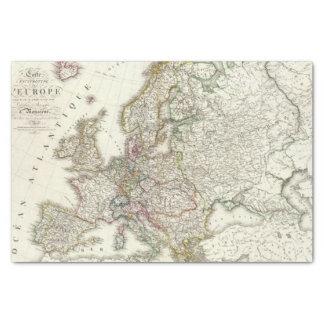 Europe 3 tissue paper
