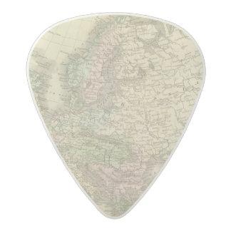 Europe 41 acetal guitar pick