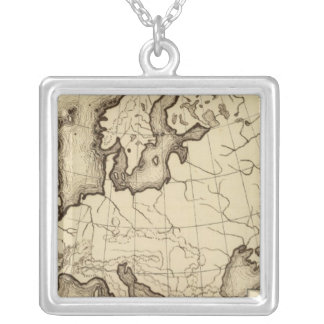 Europe 45 silver plated necklace