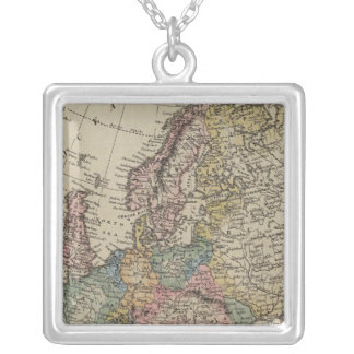 Europe 46 silver plated necklace