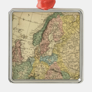 Europe 49 christmas ornament