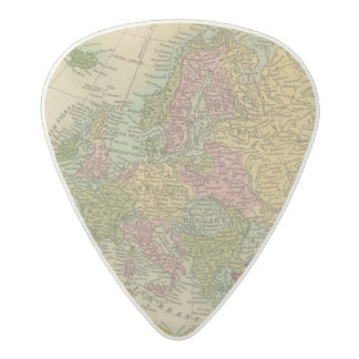 Europe 4 acetal guitar pick
