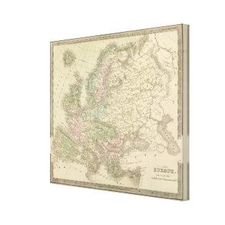 Europe 51 canvas print