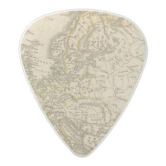Europe 52 acetal guitar pick