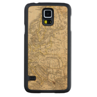 Europe 52 carved maple galaxy s5 case