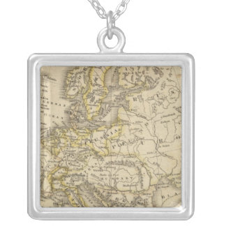 Europe 52 silver plated necklace