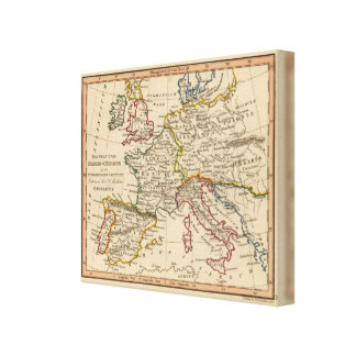 Europe 55 canvas print