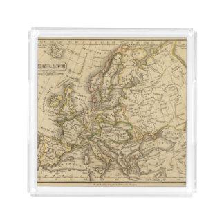 Europe 6 acrylic tray