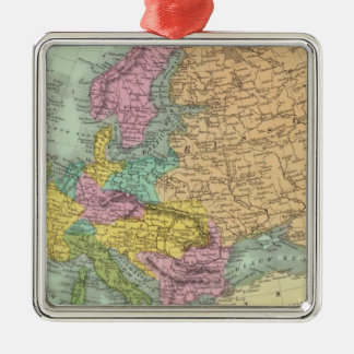 Europe 7 christmas ornament