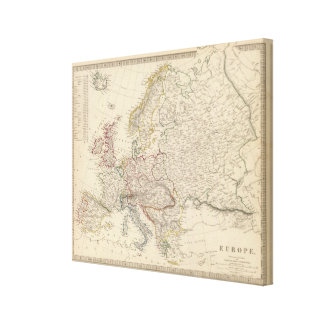 Europe 8 canvas print