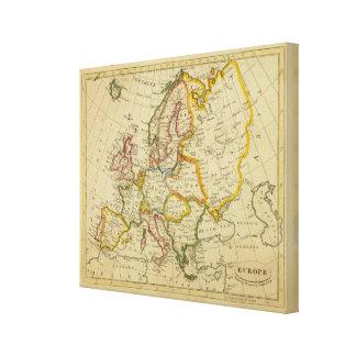 Europe 9 canvas print