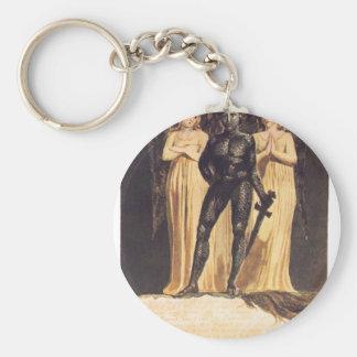 Europe. A Prophecy. William Blake Basic Round Button Key Ring