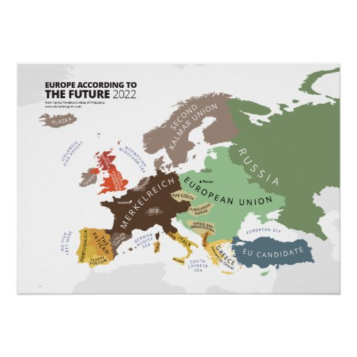 Europe According to the Future 2022 Posters
