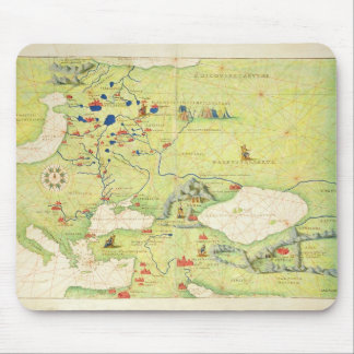 Europe and Central Asia Mouse Mat
