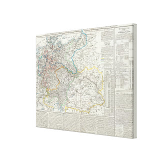 Europe and Germany Canvas Print