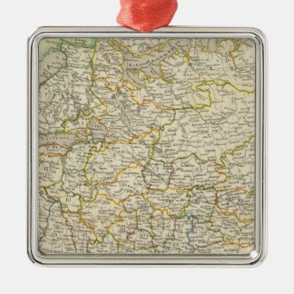 Europe and Russia Christmas Ornament