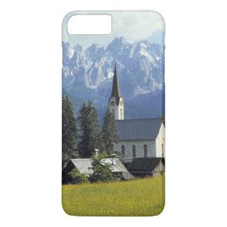 Europe, Austria, Gosau. The spire of the church iPhone 8 Plus/7 Plus Case