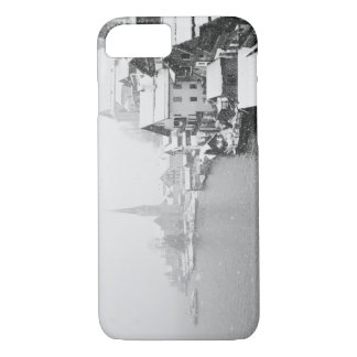 Europe, Austria, Hallstat. Town view in the snow iPhone 8/7 Case
