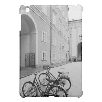 Europe, Austria, Salzburg. Bicycles in the iPad Mini Cover