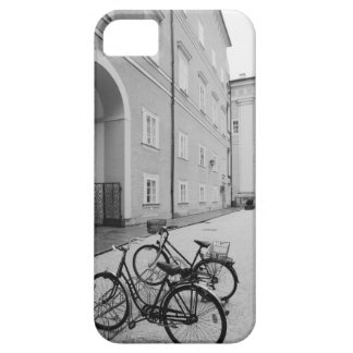 Europe, Austria, Salzburg. Bicycles in the iPhone 5 Cover