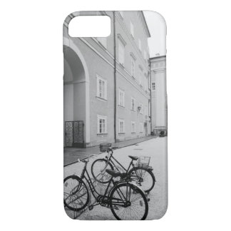 Europe, Austria, Salzburg. Bicycles in the iPhone 8/7 Case