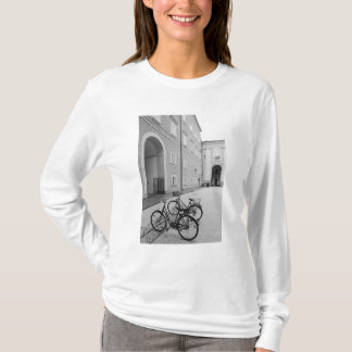 Europe, Austria, Salzburg. Bicycles in the T-Shirt