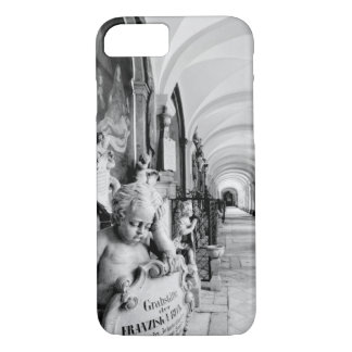 Europe, Austria, Salzburg. Cherub and monument 2 iPhone 7 Case