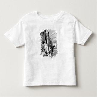 Europe, Austria, Salzburg. Cherub and monument 2 Toddler T-Shirt