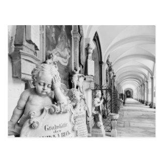 Europe, Austria, Salzburg. Cherub and monument Postcard