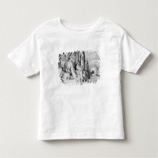 Europe, Austria, Salzburg. Cherub and monument Toddler T-Shirt