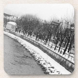 Europe, Austria, Salzburg. The bank of the River Coaster