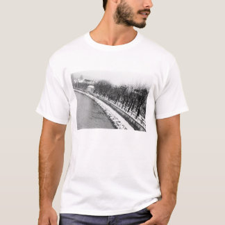 Europe, Austria, Salzburg. The bank of the River T-Shirt