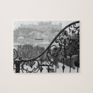 Europe, Austria, Salzburg. View of the Old City Jigsaw Puzzle