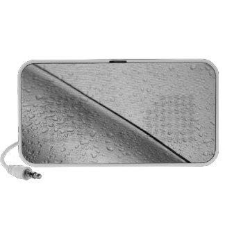 Europe, Austria, Salzburg. Water drops on silver Mp3 Speaker