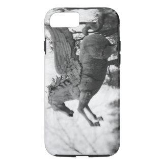 Europe, Austria, Salzburg. Winged horse statue, 2 iPhone 8/7 Case