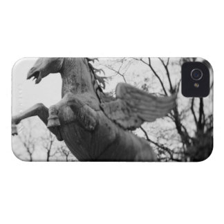 Europe, Austria, Salzburg. Winged horse statue, iPhone 4 Cover